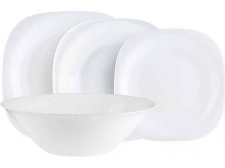 "Сервиз обеденный стекло 19 предметов Carine White ""Luminarc"", фото 2"