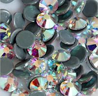 Стразы Crystal Stone(HF).Цвет Crystal АВ ss12(3-3,2mm).Цена за 100шт