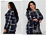 Вязанная женская кофта размеры 52-54.56-58, фото 2