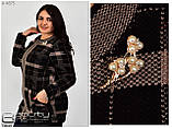 Вязанная женская кофта размеры 52-54.56-58, фото 9