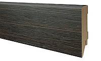 Плинтус МДФ дуб венге 100х19 мм, шт., фото 1