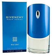 Мужская туалетная вода Givenchy Blue Label EDT 100 ml реплика