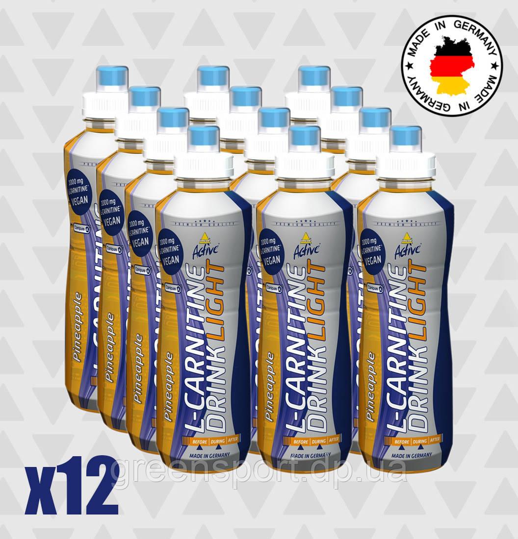 Жиросжигатель Inkospor Active L-Carnitine Drink Light (12 x 500 мл) Ананас
