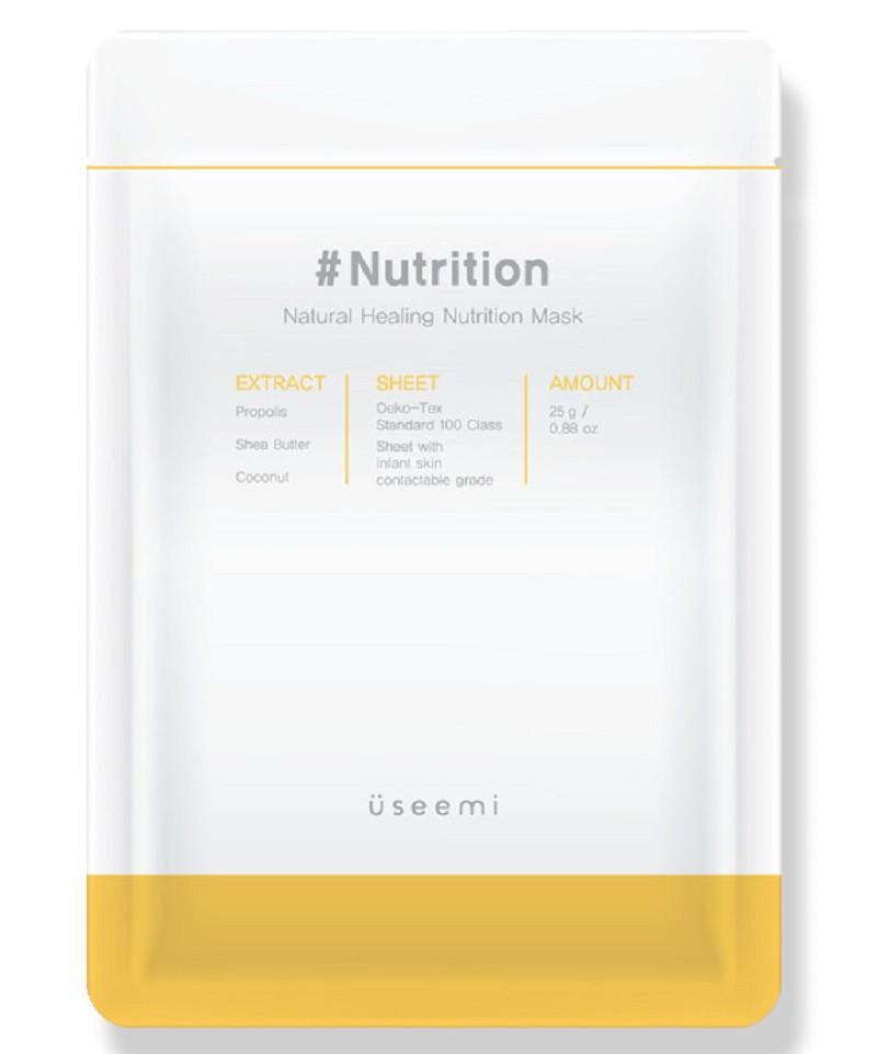 Натуральная питательная маска для лица Useemi Natural Healing Mask Nutrition 25 г (8809638300191)