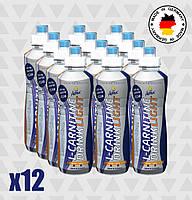 Жиросжигатель Inkospor Active L-Carnitine Drink Light (12 х 500 мл) Лимонный лайм, фото 1