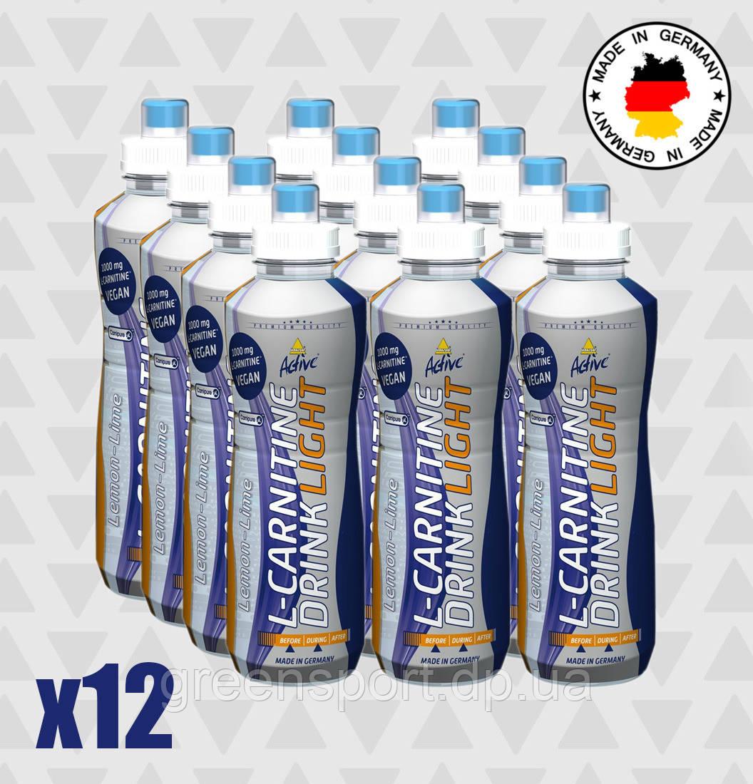 Жиросжигатель Inkospor Active L-Carnitine Drink Light (12 х 500 мл) Лимонный лайм