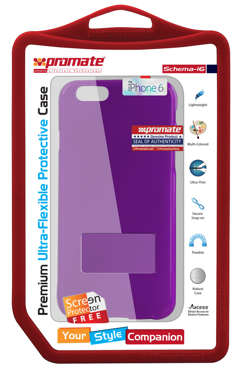 Чехол для iPhone 6 Promate Schema-i6 Purple