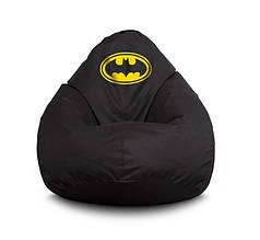 """Кресло груша """"Batman Black"""" Оксфорд"""