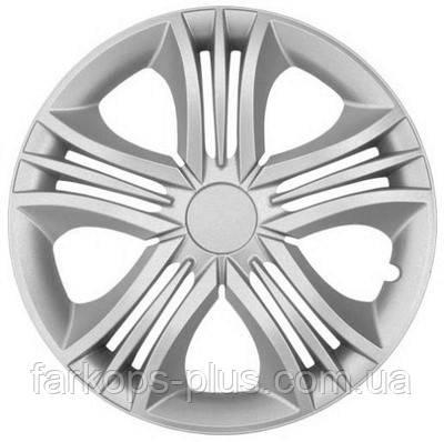 Колпаки на колеса R 16 Фан (Серебристые)