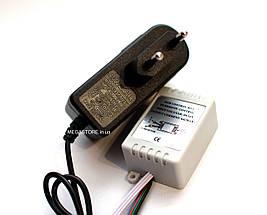 RGB светодиодная лента влагозащищенная комплект (набор) RGB LED strip 2835 SMD 10м, фото 3