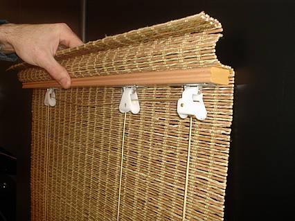 Механизм для бамбуковых ролет