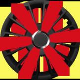 Колпаки на колеса R 14 Ардженто red
