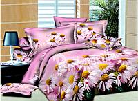 """Комплект постельного белья """"Ромашка"""" полуторный размер"""