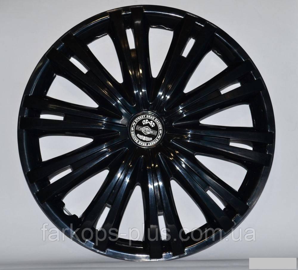 Колпаки на колеса R 14 Гига (Черные)