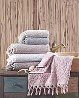 Махровое полотенце Saheser 50×90 лицевое. Турция