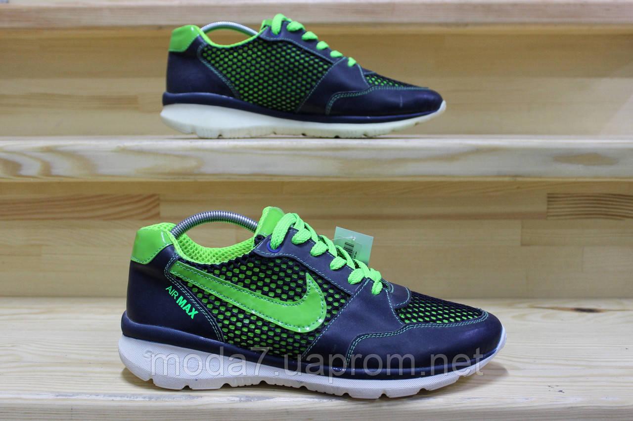 Мужские кроссовки Nike Roshe Run сетка реплика