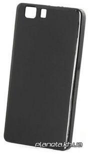 STD силиконовая накладка для Doogee X5 черная
