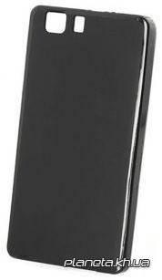 STD силиконовая накладка для Doogee X5 черная, фото 2
