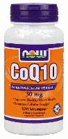 Коэнзим, Коq10, Now Foods, CoQ10, 30mg, 120 caps