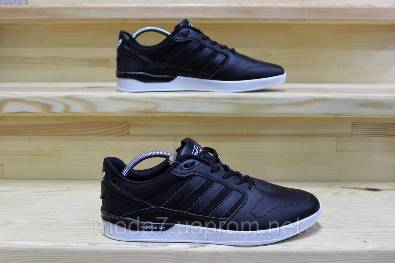 Мужские кроссовки Adidas черные реплика