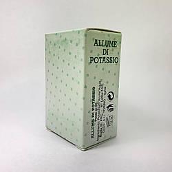 Камень от порезов Allume Di Potassio 80 гр. (квасец)