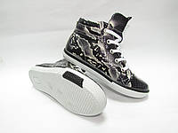 Ботинки - кеды для девочки Рептилия 0600-1-48