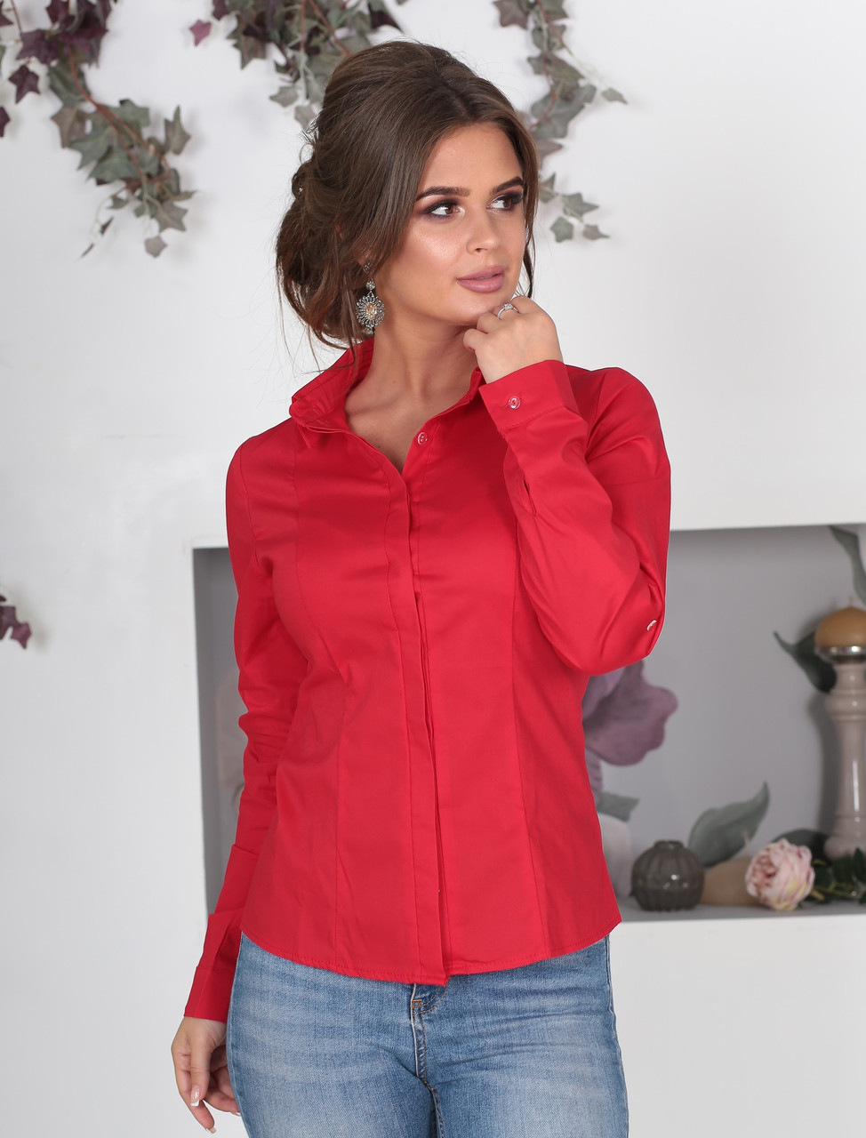 33026037c9d Женская классическая рубашка