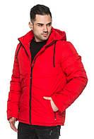 Молодежная мужская демисезонная куртка Томас красный (48-56), фото 1