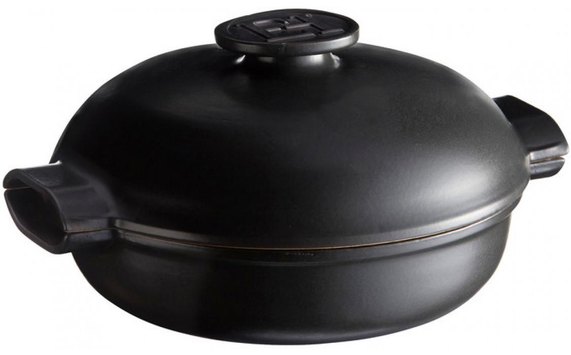 Кастрюля жаровня керамическая Emile Henry Delight 2,5 л индукция 776625