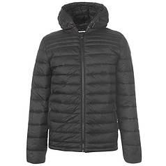 Куртка SoulCal Micro Hooded Bubble Jacket Mens