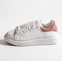 Женские кроссовки Adidas x Alexander McQueen Rose