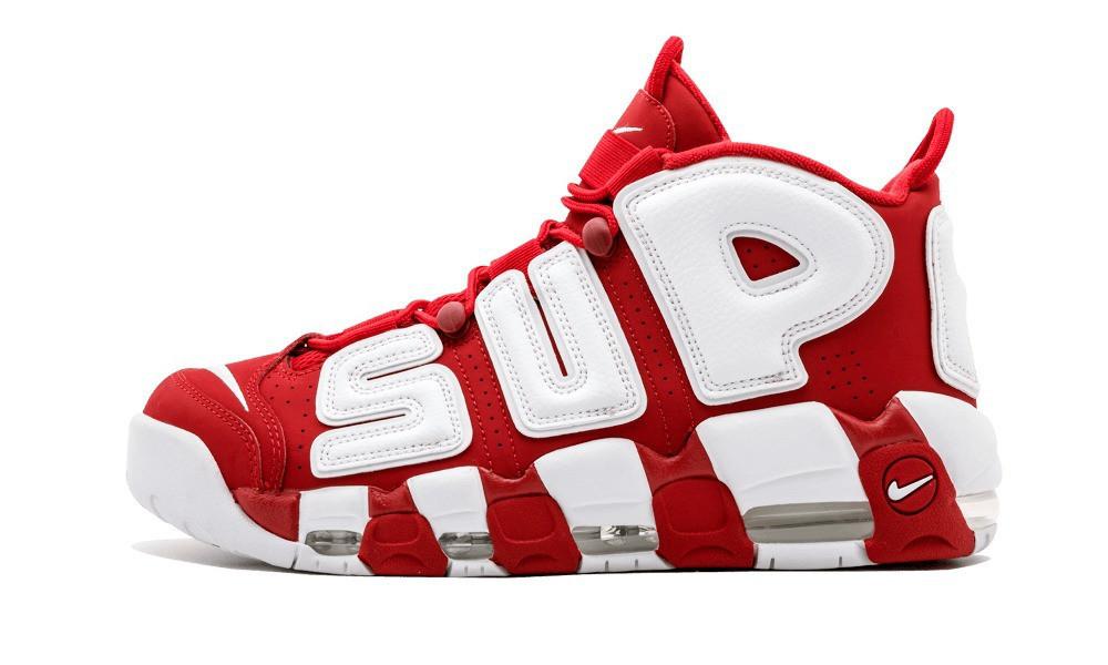 0f5e5881 Женские кроссовки Nike Air More uptempo red & white: продажа, цена в ...