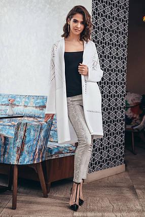 Легкий кардиган с карманами «Эмили»  Универсальный размер 44-52, фото 2