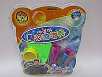 Мыльные пузыри (набор для игры + рукавички) блистер /72/(2033)