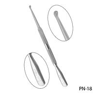 Лопатка с кюреткой PN-18 двухсторонняя