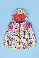 Куртка демисезонная для девочки р. 86 Zironka