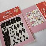 Трафареты для дизайна ногтей Nail Art Vinyls Sticker № 404