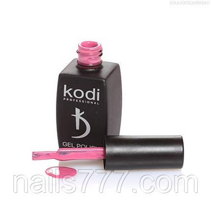 Гель лак Kodi  №01P,приглушенный бордово-малиновый, фото 2