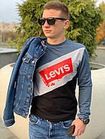 Мужской  свитшот  Levi s Левис (реплика)