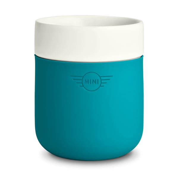 Чашка MINI Cup White/Aqua, артикул 80282445696