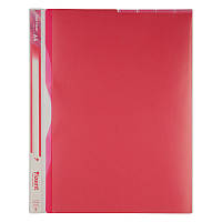 Папка-куточок Axent 5 відділень, А4, PP, рожева (1481-10-a)