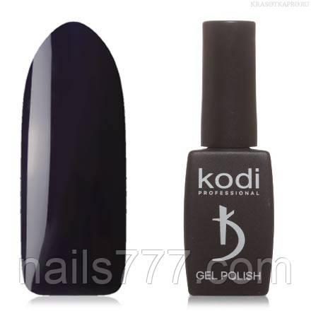 Гель лак Kodi  № 01B, глубокий сине-фиолетовый