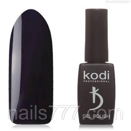 Гель лак Kodi  № 01B, глубокий сине-фиолетовый, фото 2