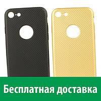 Чехол Unipha Карбон для iPhone 8 (Айфон )