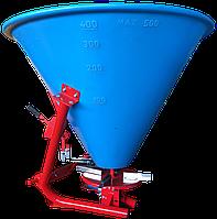 Разбрасыватель удобрений Jar-Met 500л  (ручной / гидравлический)