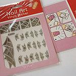 Трафареты для дизайна ногтей Nail Art Vinyls Sticker № 407