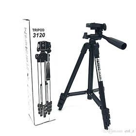 Универсальный штатив TRIPOD 3120 для телефона камеры