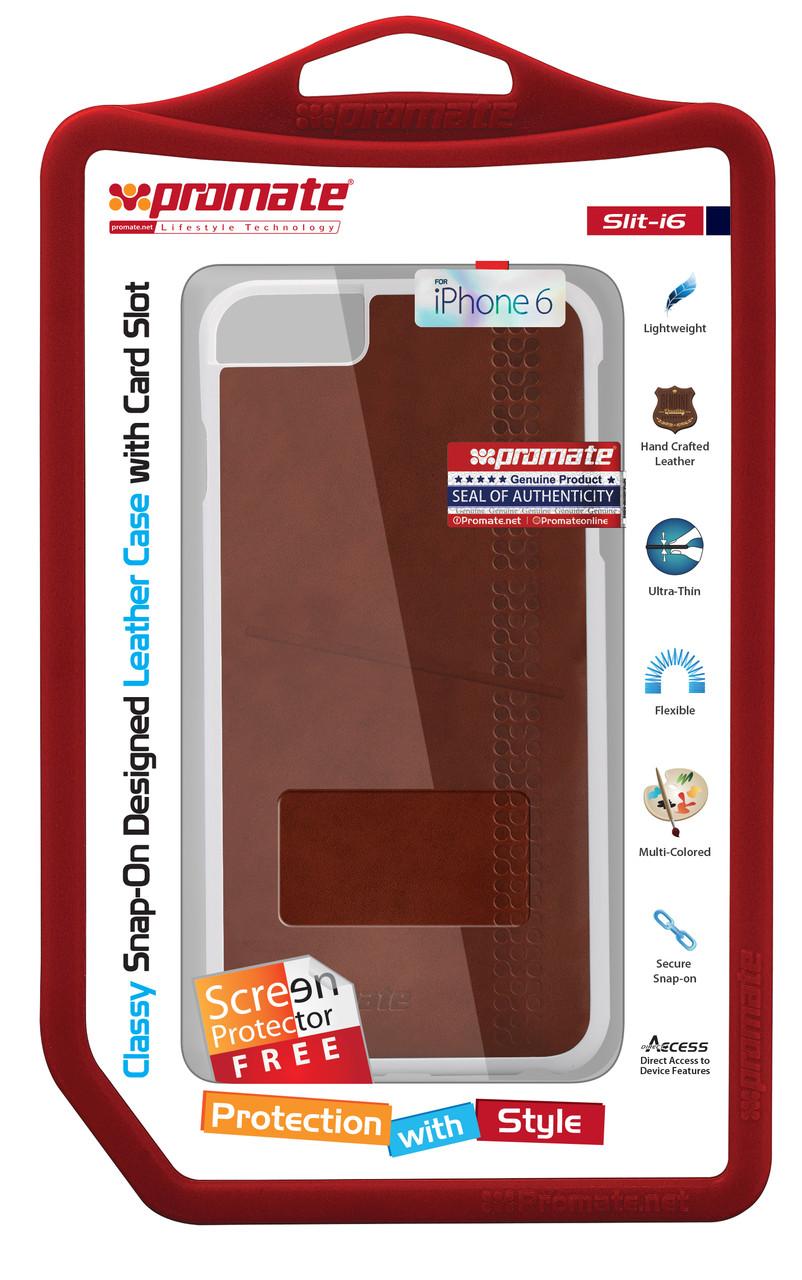 Чехол для iPhone Slit-i6 Brown