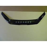 Дефлектор капота (мухобойка) Peugeot 206 с 1998 г.в. (Пежо 206) Vip Tuning