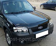 Дефлектор капота (мухобойка) Ford Maverick II (Форд маверик 2000г-2007г)